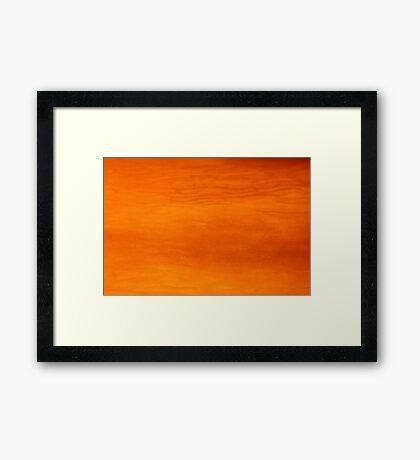 pepper-hot sunset Framed Print
