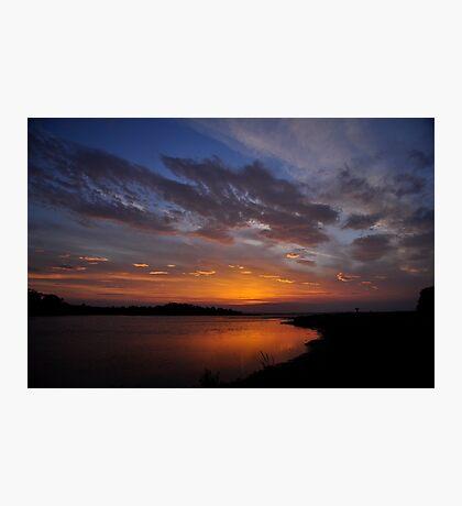 Sunrise over the Estuary Photographic Print