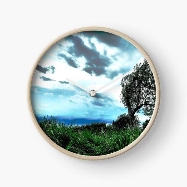 Stormy Skies Clock