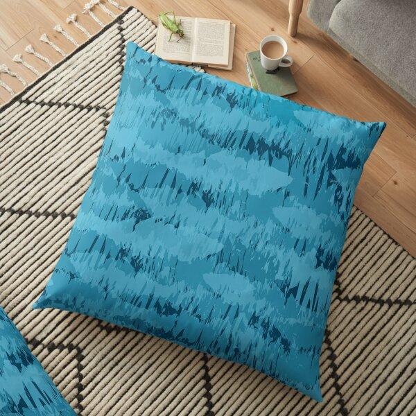 Ocean shoal Floor Pillow