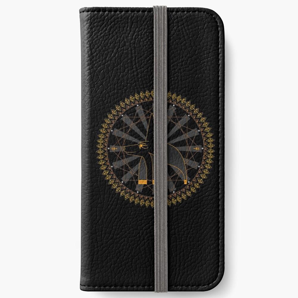 anubis iPhone Flip-Case