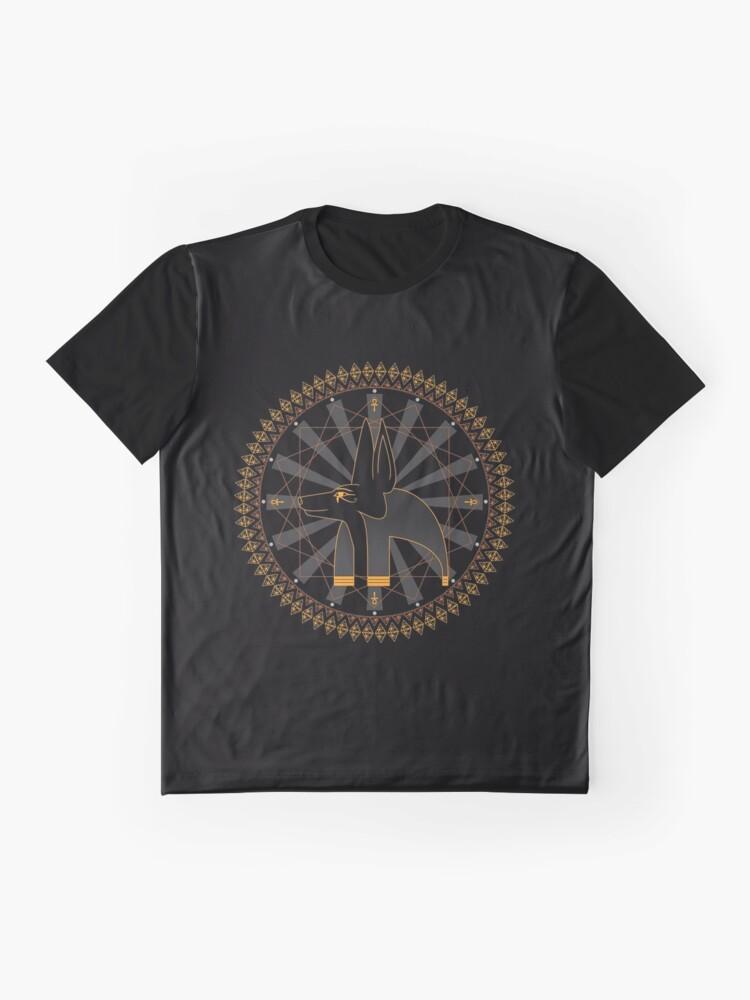 Alternative Ansicht von anubis Grafik T-Shirt