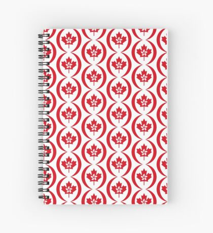 Hong Konger Canadian Multinational Patriot Flag Series Spiral Notebook