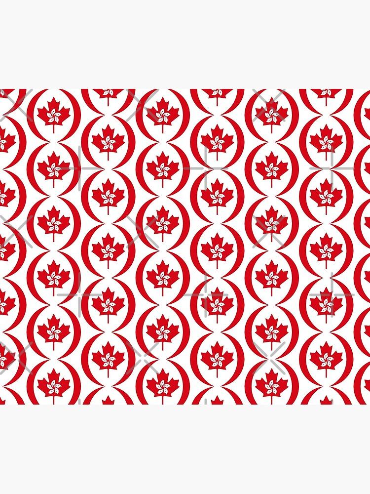 Hong Konger Canadian Multinational Patriot Flag Series by carbonfibreme