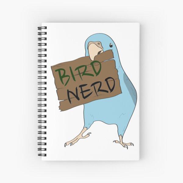 Bird Nerd Spiral Notebook