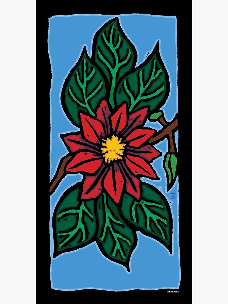Red Flower by mlaydesign