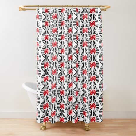 Korean Canadian Multinational Patriot Flag Series Shower Curtain