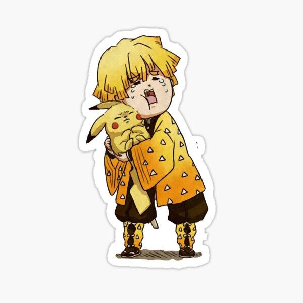 Zenitsu Sticker Sticker