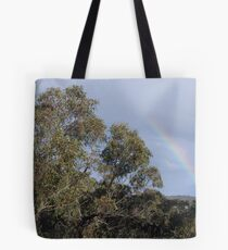 Late Rain Bow Tote Bag
