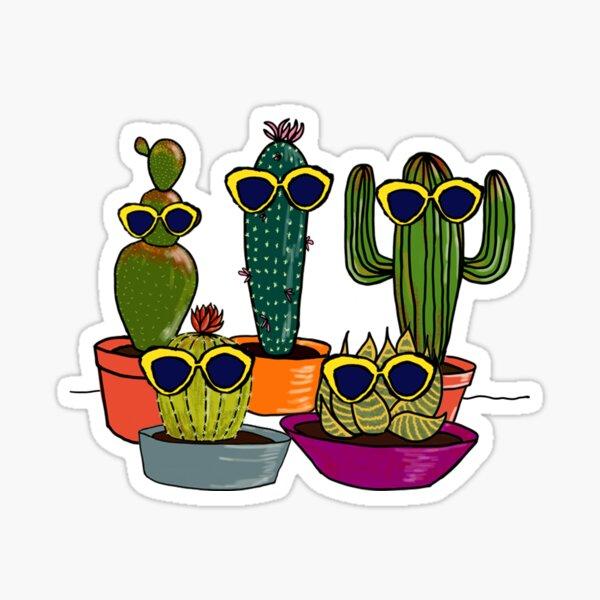 Cool Cacti Sticker