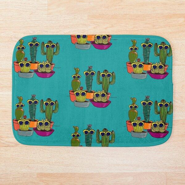 Cool Cacti Bath Mat