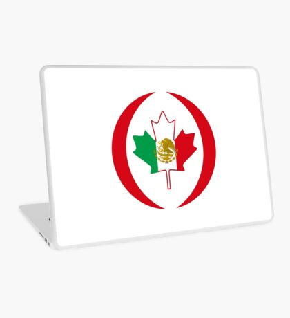 Mexican Canadian Multinational Patriot Flag Series Laptop Skin