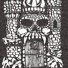 «cráneo gris blanco» de Tsudo