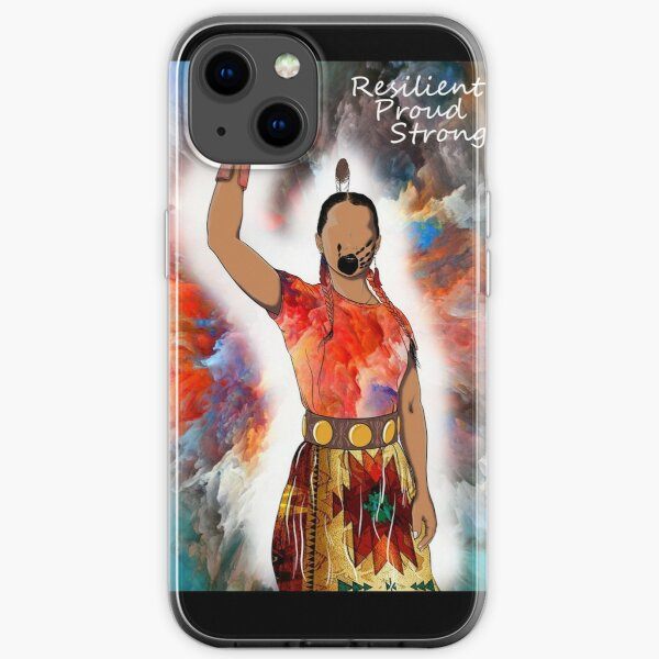 Native American Women Strength & Women Courage MMIW iPhone Soft Case