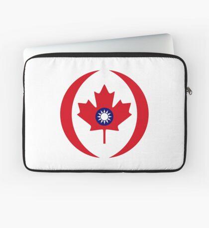 Taiwanese Canadian Multinational Patriot Flag Series Laptop Sleeve
