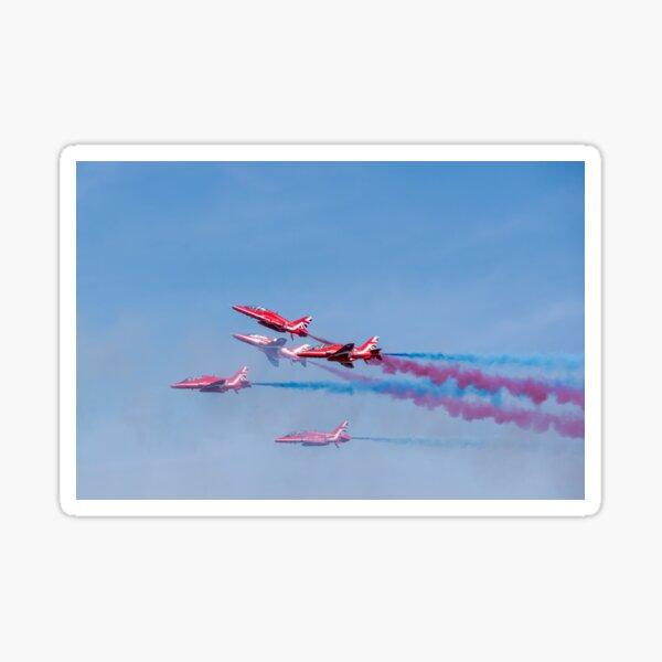 Red Arrows over Weston-super-Mare Sticker