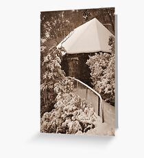 The Chalet Greeting Card