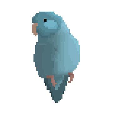 Pixel Parrotlet by parrotproducts