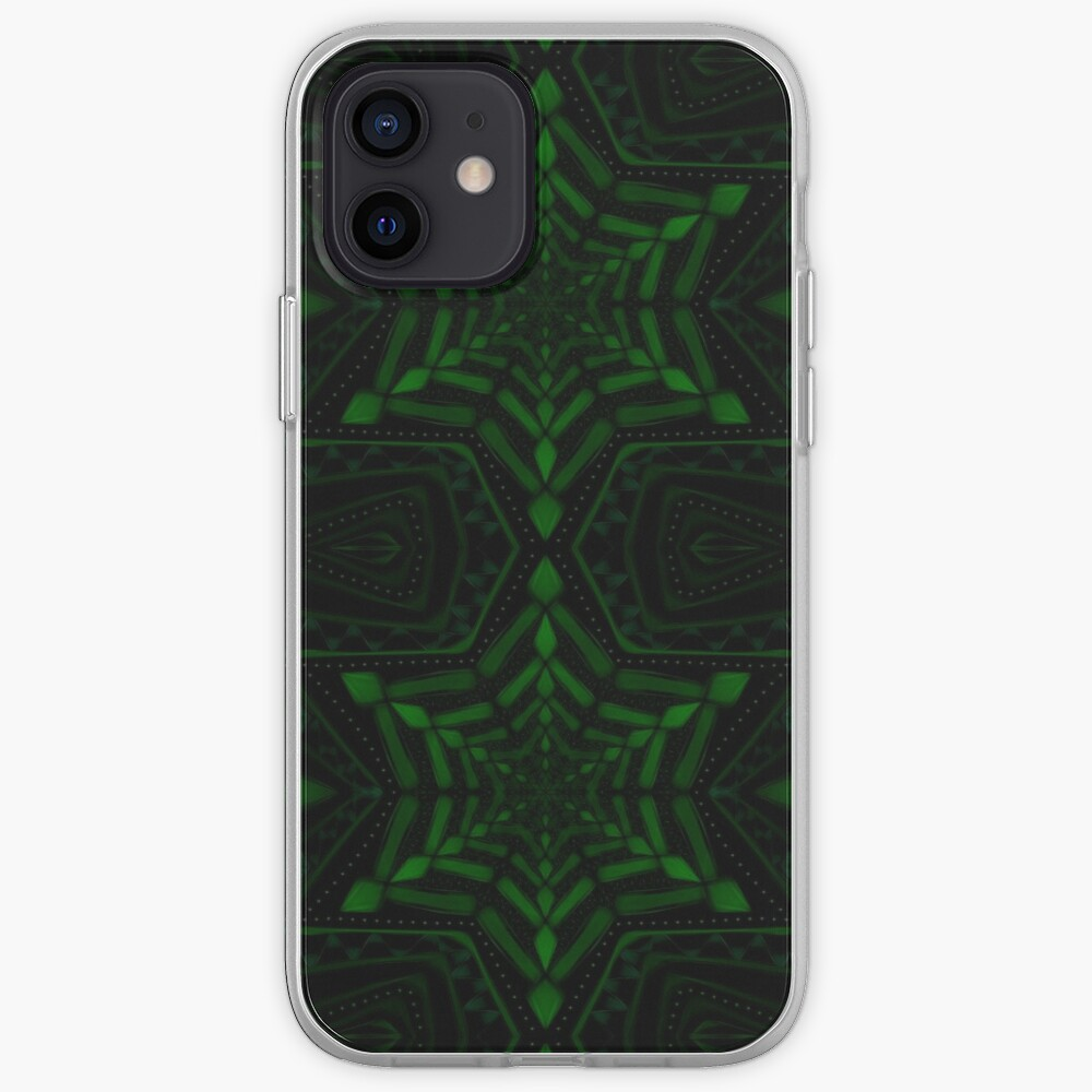 Fractal Forest Flake iPhone Case & Cover