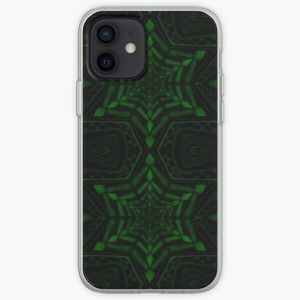 Fractal Forest Flake iPhone Soft Case