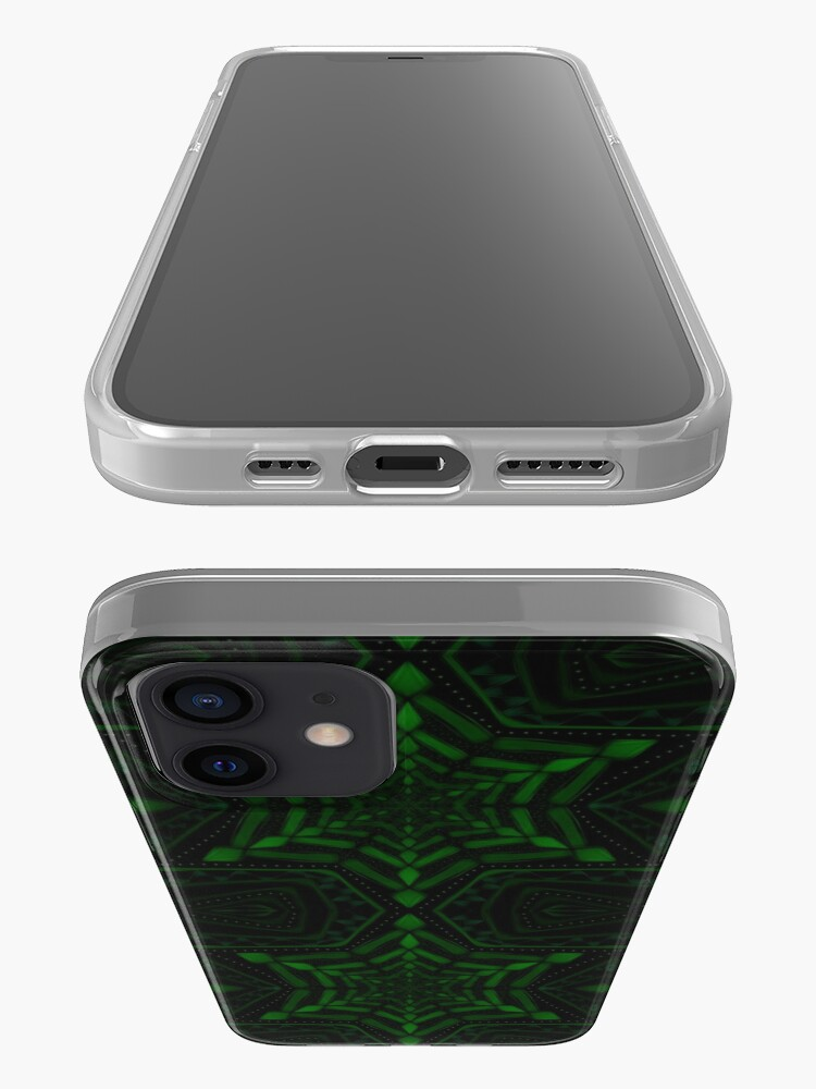 Alternate view of Fractal Forest Flake iPhone Case & Cover