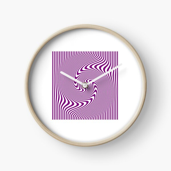 #Symmetry, #illusion, #drawings, wave Clock