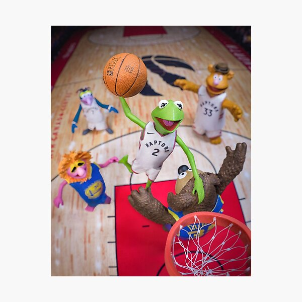 Dunking Pals Photographic Print