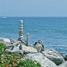 Rock Sculptures - Narragansett - Ocean Road - Rhode Island *featured by Jack McCabe