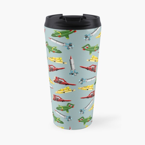 Thunderbirds Pattern Travel Mug