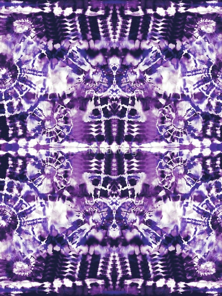 Tie-Dye Spiral Shibori by ninabmay
