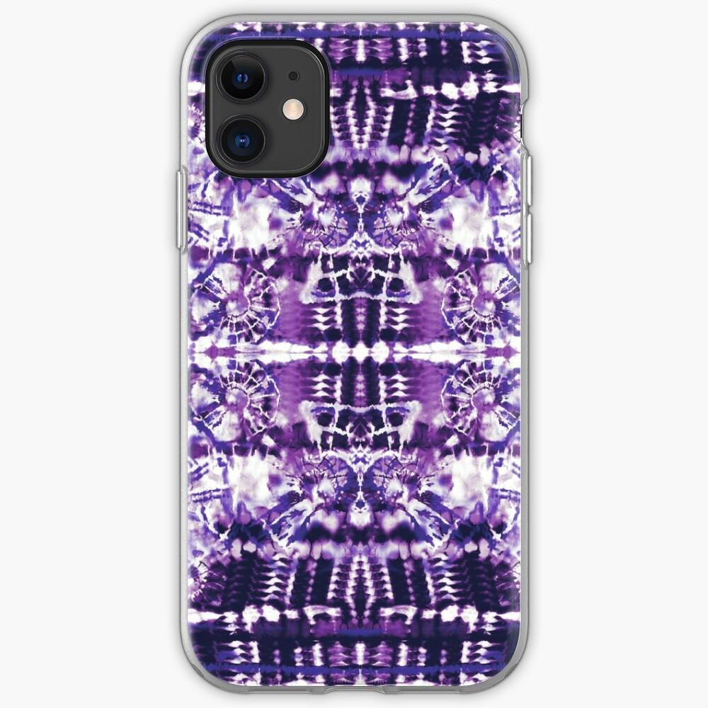Tie-Dye Spiral Shibori iPhone Case & Cover