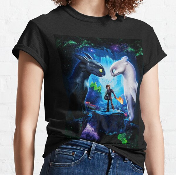 How to train Your Dragon The Hidden World Oil Base Classic T-Shirt