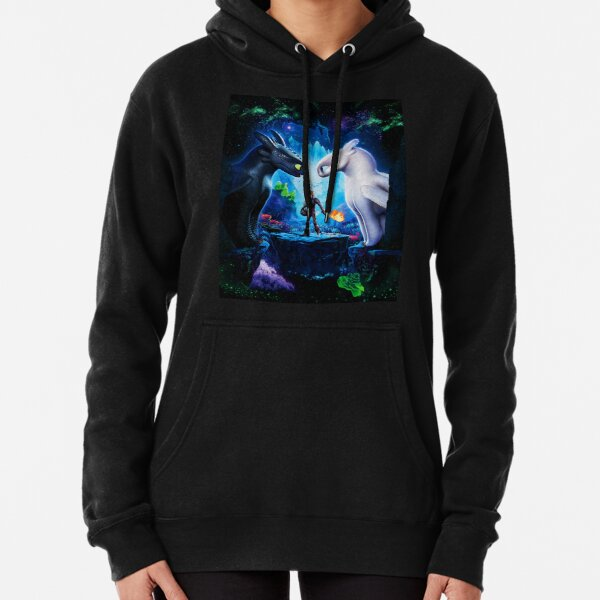 How to train Your Dragon The Hidden World Oil Base Pullover Hoodie