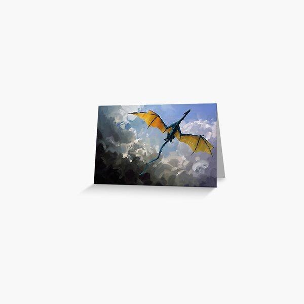 Dragon Sky Greeting Card