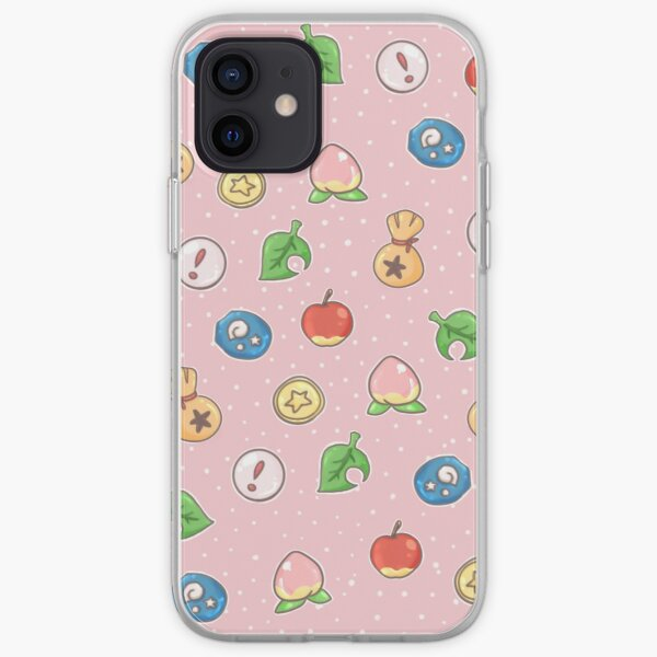 Animal Crossing Icons v.2  iPhone Soft Case