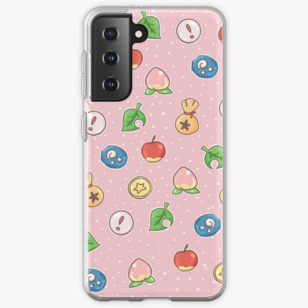 Animal Crossing Icons v.2  Samsung Galaxy Soft Case