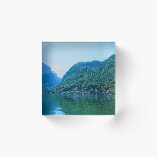 Day at the Lake 12 Acrylic Block