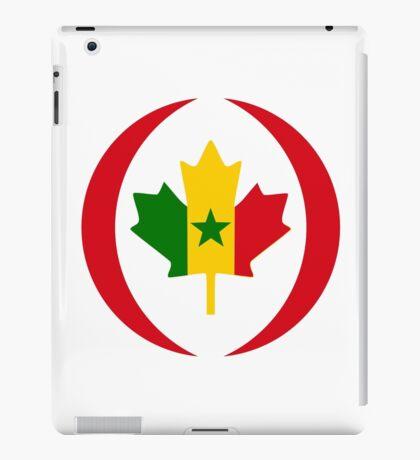 Senegalese Canadiain Multinational Patriot Flag Series iPad Case/Skin