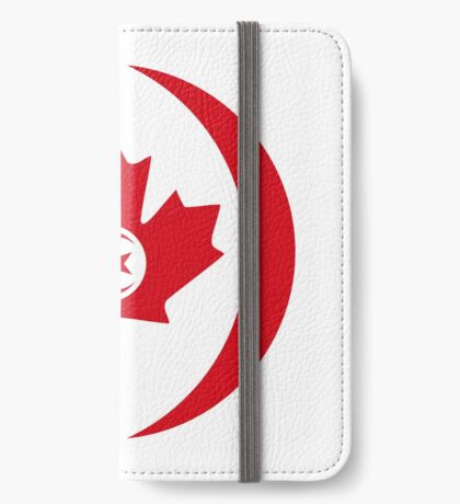 Tunisian Canadian Multinational Patriot Flag Series iPhone Wallet