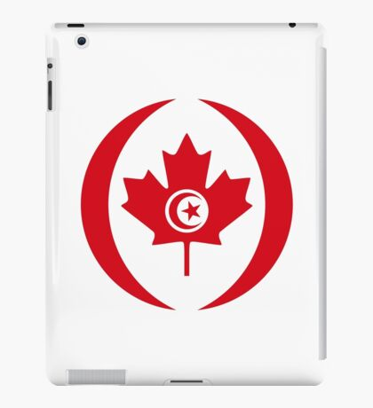 Tunisian Canadian Multinational Patriot Flag Series iPad Case/Skin