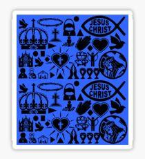 CHRISTIANITY (BLUE) Sticker