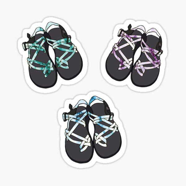 Pack of Marble Chacos Sticker