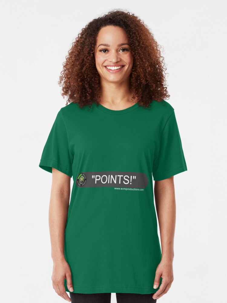 Alternate view of POINTS! Slim Fit T-Shirt