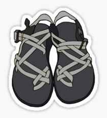 Gray Chacos Sticker
