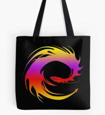 Colorful dragon - Eragon Tote Bag