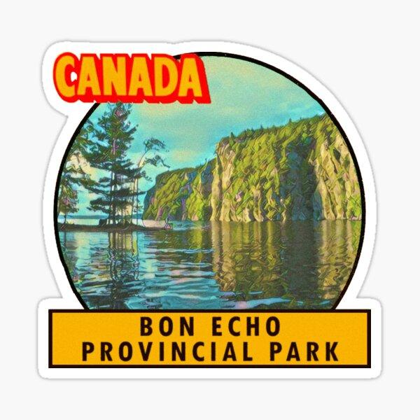 Bon Echo Provincial Park Vintage Travel Decal Sticker