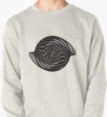 Monochrome Pullover Sweatshirt