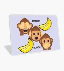 Monkey Bunch See No Evil, Hear No Evil, Speak No Evil Joypixels Emoji Laptop Skin