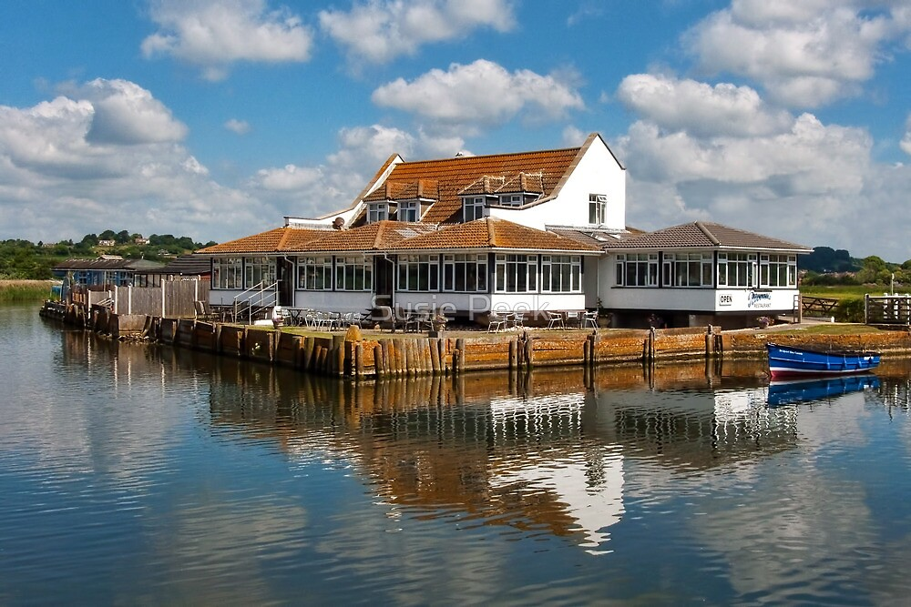 Riverside Restaurant ~ West Bay by Susie Peek