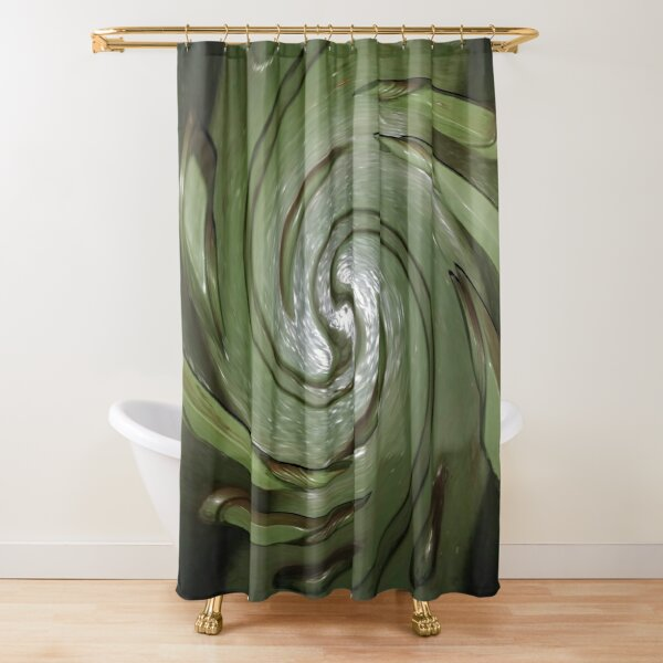Carving Shower Curtain